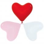 S Сердце Ассорти 3 цвета / Assorted