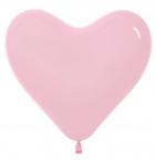 S Сердце Розовый / Bubble Gum Pink