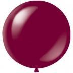 Шар 1 метр Бордовый