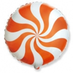 Круг / Карамель оранжевый