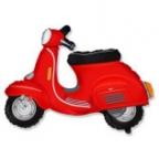 Скутер красный