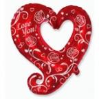 Розы и сердца