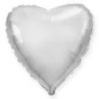 Шар Сердце Серебро / Silver