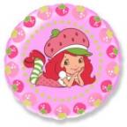 Шар Круг / Девочка-Клубничка ягодки