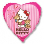 Сердце / Хелло Китти с мишками