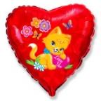Сердце / Влюбленный котенок