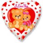 Сердце / Влюбленные медвежата