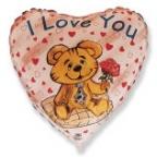 Сердце / Влюблённый медвежонок