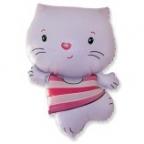 Котенок розовый