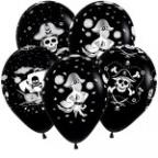 Пиратский стиль , Пастель (черный цвет), 5 ст.