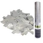 AC 30см Пневмохлопушка Серебряное конфетти