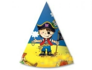 Шар Колпак Маленький пират 6 шт/уп