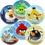 Шар Тарелка Angry Birds 23см 6шт/уп