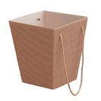 Коробка для цветов Крафт вельвет