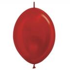 Шар S Линколун Метал Красный / Red