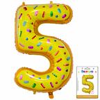 Цифра 5 Пончик в упаковке / Zero