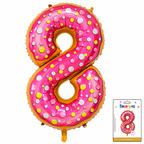 Цифра 8 Пончик в упаковке / Zero