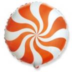 Шар Круг / Карамель оранжевый