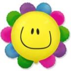 Шар Цветик - многоцветик (солнечная улыбка)