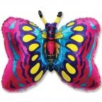 Шар Бабочка фуксия