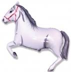 Шар Лошадь белая