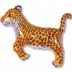 Шар Леопард черный