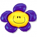 Шар Цветочек фиолетовый