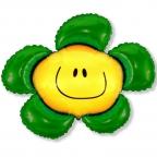 Шар Цветочек зеленый