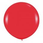 Шар 1 метр пастель Красный