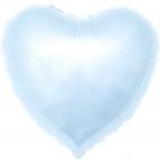 """Шар Р Сердце 18""""/46см Светло-голубой"""