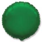 Шар фольгированный круглый Зелёный / Green