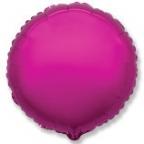 Шар фольга Круг Лиловый / Purple