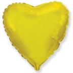 Шар Сердце Золото / Gold