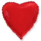 Шар Сердце Красный / Red