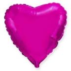 Шар Сердце Лиловый / Purple