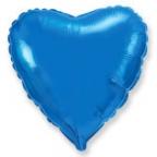 Шар Сердце Синий / Blue