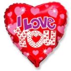Шар Сердце / Сияющий Я тебя люблю
