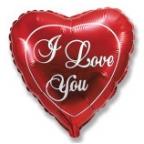 Шар Сердце / Любовь (красное)