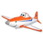 Шар Самолет мультяшный
