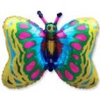 Шар Бабочка золото