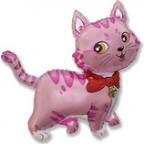 Шар Милый котёнок розовый