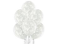 "Шар Шелкография кристалл 14"" Бабочки -038"