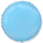 Шар Круг Светло-Голубой / Rnd Blue baby