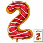 Цифра 2 Пончик в упаковке / Zero