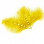 Перья Желтые
