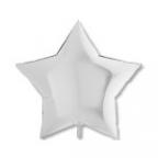 Шар Звезда Пастель Белый / White