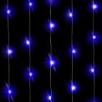 Светодиодная нить Голубого свечения, 3м, 30 Led