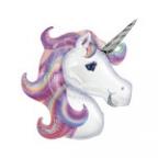Шар А ФИГУРА/P35 Единорог Фиолетовый голова