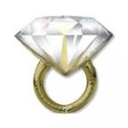 Шар П ФИГУРА 5 Кольцо с бриллиантом