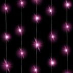 Светодиодная нить Розового свечения, 3м, 30 Led